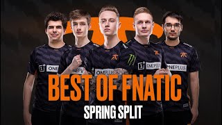 Le Best of Fnatic spécial Spring Split 2019