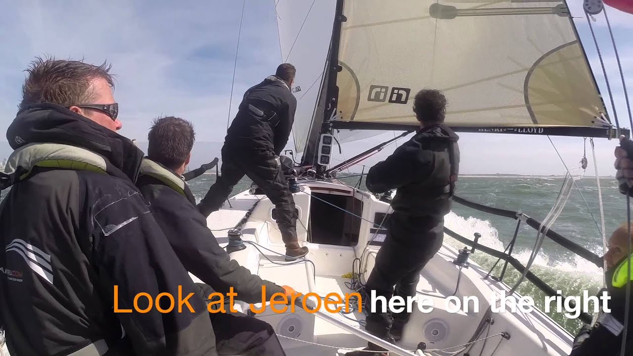 How to sail 18.6 knots on a j88 , and blow up a life jacket