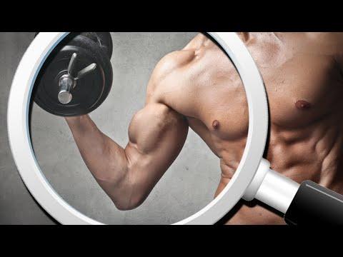 Schłodzone mięśni na klatce piersiowej