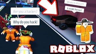 Interviewing A Jailbreak Cheater Car Noclip Roblox Jailbreak