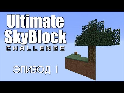 Ultimate SkyBlock #1 — Мерзкая кобло-коробка