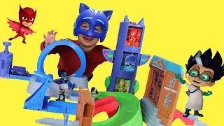 Игрушки Герои в масках Новая Серия 201. Игровой набор Герои в масках все серии подряд.