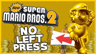 Is it possible to beat New Super Mario Bros. 2 WITHOUT PRESSING LEFT?