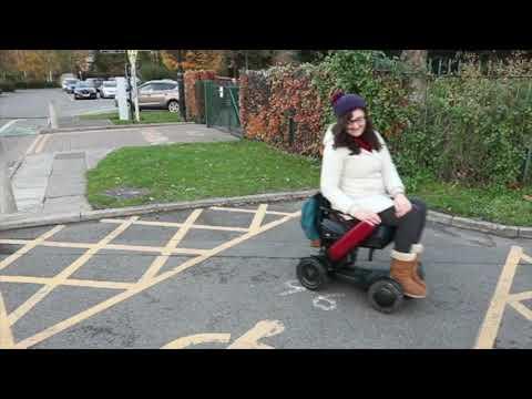 TGA: WHILL Model C - Georgina, accessible travel blogger - vlog 3 YouTube video thumbnail