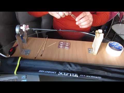 Лакировка колец самодельный станок для родбилдинга ремонт спиннинга своими руками