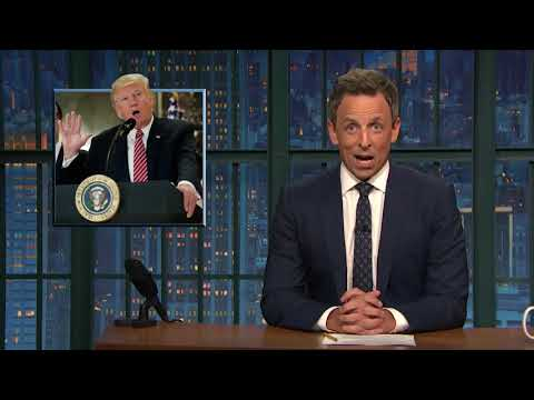 Late-night reactions: Trump's press conference on Charlottesville