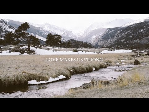 Laura Hackett Park - Love Makes Us Strong (Lyric Video)