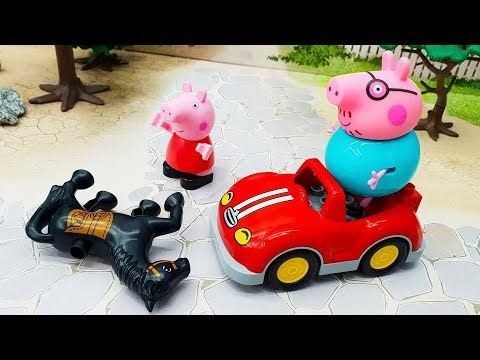 Мультики с игрушками Свинка Пеппа - Лошадка. Игрушечные видео 2019 на русском видео