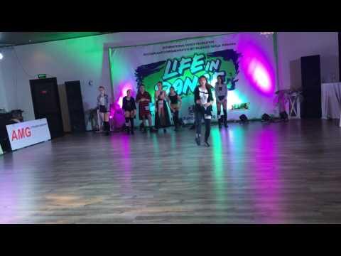 Настя Яворская - джаз-фанк/ Киев, Life in dance/2016