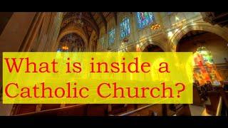 What's Inside a Catholic Church?