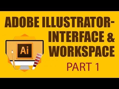 Adobe Illustrator Workspace \u0026 Interface | Adobe Illustrator For Beginners | Part 1 | Eduonix