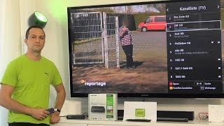 Senderliste sortieren DVB-T2 HD - Samsung Media Box lite GX MB540TL