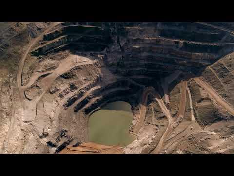 Quarry Aerial Imagery 4K