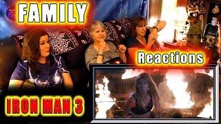 Iron Man 3 | FAMILY Reactions | Fair Use Version