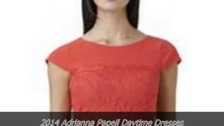 2014 Adrianna Papell Daytime Dresses