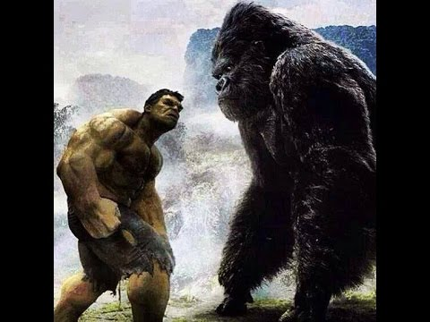 HULK VS KING KONG (Part 2)(reading Trailer)