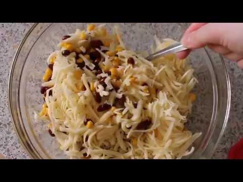 Cooking #3:Салат с фасолью, сыром и сухариками