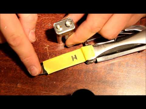 Come fare iscrizioni sul metallo GRATIS