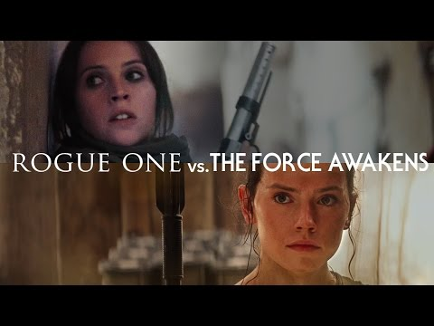 Rogue One vs. Síla se probouzí