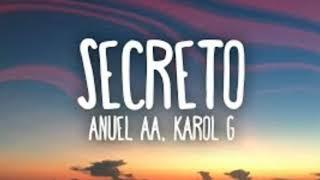 Anuel AA, Karol G - Secreto - Música 2019 - Letra en la descripción 👇