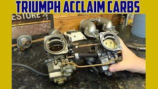 Triumph Acclaim Part 34 Carbs Strip Down And Ignition