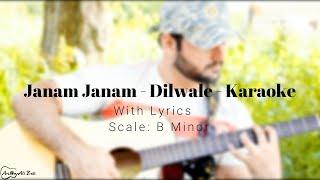 Janam Janam | Dilwale | Karaoke With Lyrics - YouTube