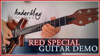 AnderMay Guitars Queen Brian May´s Red Special Guitar Replica