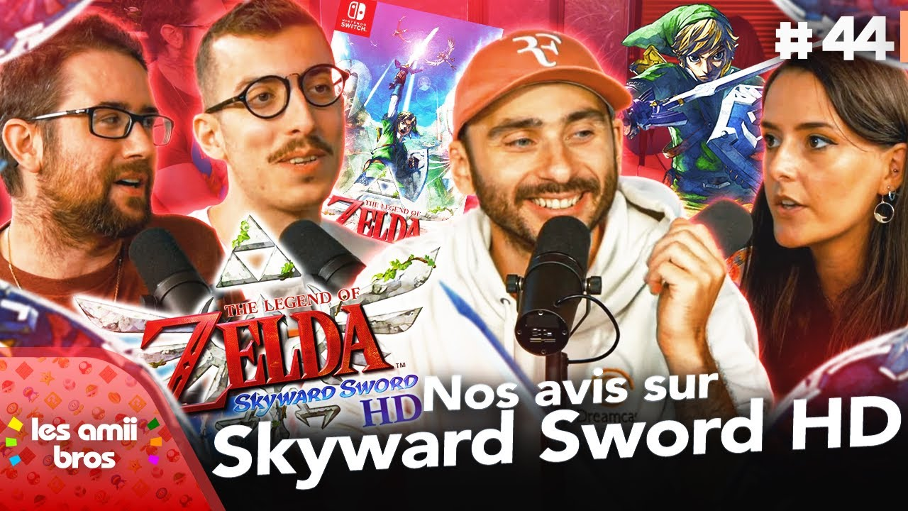 Nos avis sur The Legend of Zelda : Skyward Sword HD ! 🎮   Les Amiibros #44