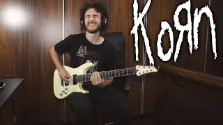 Korn   Finally Free Guitar Cover NEW SONG