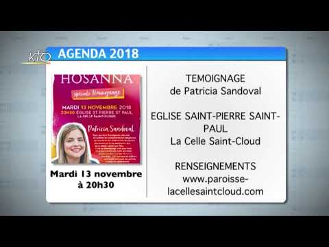 Agenda du 9 novembre 2018