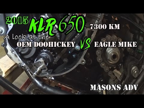 OEM vs Eagle Mike Doohickey 2015 KLR 650 with 7300kms