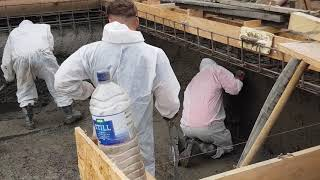 Concrete Pool Shells - Sprayed not Poured!