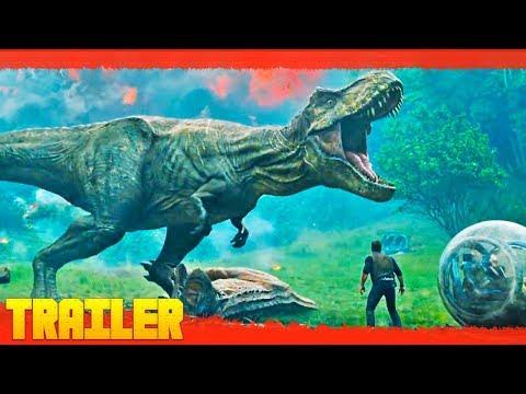 Jurassic World 2: El reino caído (2018) Tráiler Oficial Español