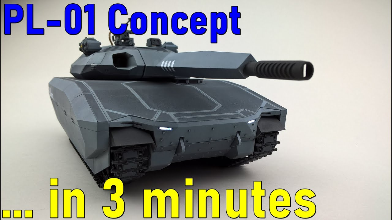 #9 … in 3 minutes – PL-01 Concept scale 1/35 – model build