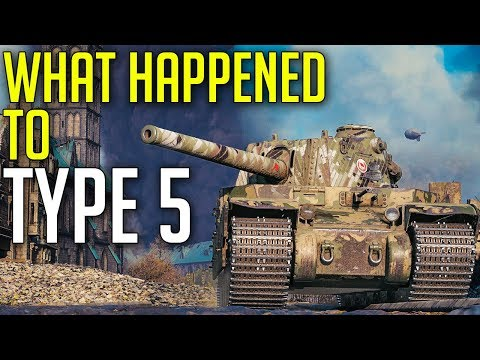 Type 5: Am I a JOKE To You? ► World of Tanks Type 5 Heavy Gameplay