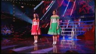 Over The Rainbow - Danielle & Jessica - Take That Look Off Your Face (9th May, 2010)