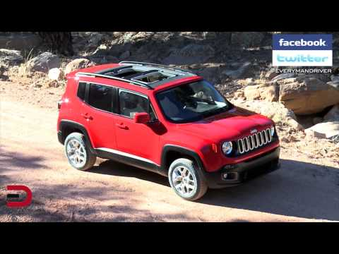 FIRST LOOK | 2015 Jeep Renegade on Everyman Driver