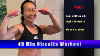 MMA inspired 45 MIN CIRCUITS