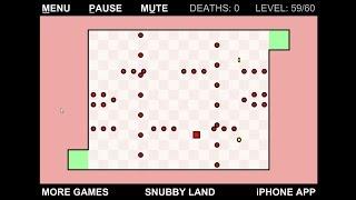 The World's Hardest Game 2 v2.1 SpeedRun 13:10 Levels 1-60 Walkthrough