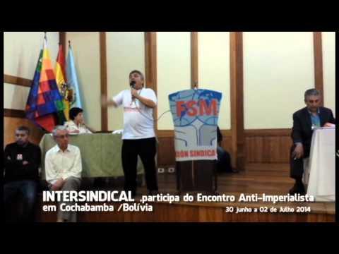 Intersindical participa de Encontro Internacional Anti-imperialista