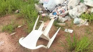 Sem fiscalização, LMG743 tomada por lixo