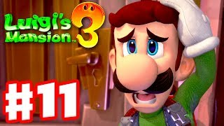 Luigi's Mansion 3 - Gameplay Walkthrough Part 11 - Lots Of Ghosts! Twisted Suites!  Nintendo Switch