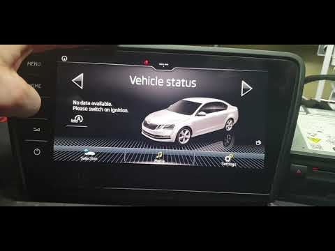 Škoda MIB difference I and II generation plus software