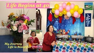 40th Birthday Party Ideas| My 40th Birthday Party Celebration | Opening A Birthday Presents