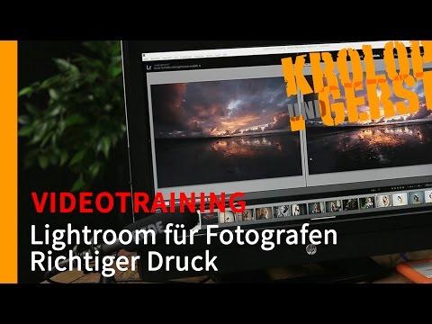 Richtiger Druck - Ausgabe - 008 - Lightroom für Fotografen - VIDEOTRAINING - Sample - Krolop&Gerst