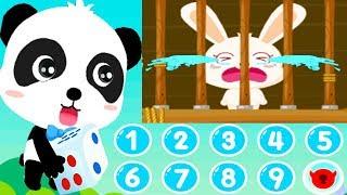 Little Pandas Math Adventure - Baby Learn Colors & Basic Math Numbers - Kids Fun Educational Games