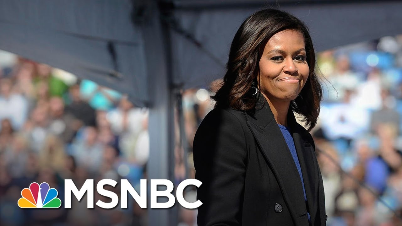 Michelle Obama's Legacy As First Lady, Focus On Girl's Education | MSNBC thumbnail