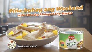Del Monte Pineapple: Piña-buhay ang weekend with Chunky Pininyahang Manok!