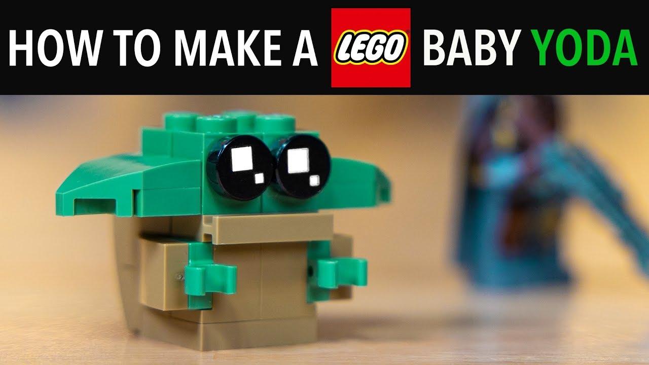 How to make a LEGO Baby Yoda