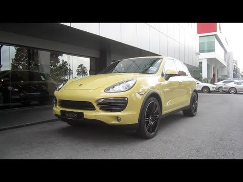 2011 Porsche Cayenne V6 Start-Up and Full Vehicle Tour